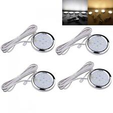 4x Home Kitchen LED Under Cabinet Shelf Accent Christmas Lighting Lamp Bulbs