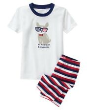 GYMBOREE SLEEPWEAR 4th of July COOL PUPPY 2pc PAJAMAS GYMMIES 12 18 2T 4 NWT