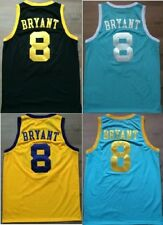 Minneapolis #8 Kobe Bryant Throwback 4 Stars North Carolina Kobe Bryant 8 Jersey