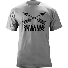 US Army Special Forces Branch Crossed Arrows Graphic T-Shirt