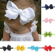 Kids Baby Girl Toddler Cute Soft Bowknot Headband Hair Band Headwear Accessories