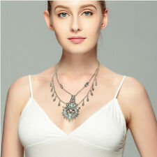 Hot New Charm Vintage Retro Long Carved Chain Fashion Necklace Pendant Necklace