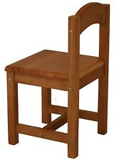 Child / Kids Wooden Timber Chair (2 chairs set)