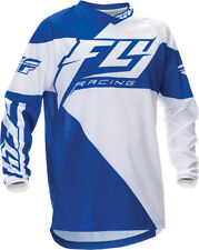 Fly Racing F-16 Jersey Blue/White 8 Adult/Youth Sizes
