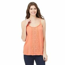 The Collection Womens Peach Floral Lace Vest From Debenhams