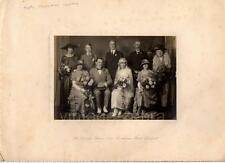 Old Vintage Wedding Photograph Black & White Photo 1930 Bride Groom Fashion VTG
