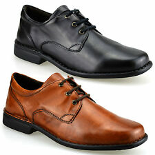 Mens Airsoft Smart Casual Round Toe Formal Lace Up Work Office Gibson Shoes Size