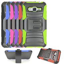 AT&T Go Phone Samsung Galaxy Express Prime case, Holster Belt Clip Cover Stand