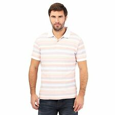 Mantaray Mens Big And Tall Pink Striped Polo Shirt From Debenhams