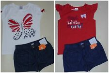 Gymboree Girls Red White Blue Shorts Tee 4T NWT