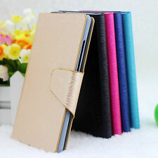For Sony Xperia T LT30p LT30 LT30i Wood Vein PU Leather Flip Wallet Case Cover