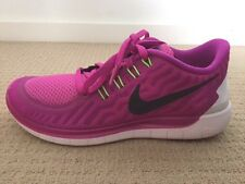 *BNIB* Womens NIKE FREE 5.0 Running Shoes Fuchsia Pink + Black