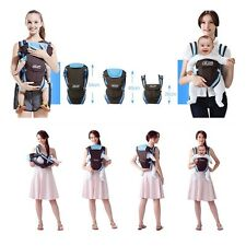 Hot Baby Carrier Adjustable Infant Newborn Kid Comfort Wrap Rider Sling Backpack