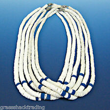 WHOLESALE 12 Pc Lots Surfer Graduated Puka Shell 18 inch Necklace #7093