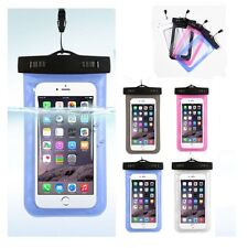 Under Water Proof Dry Pouch Bag Case Cover Protector Holder For Cell Phone AU