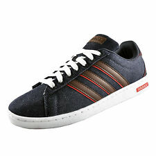 Adidas Mens Neo Derby Casual Classic Trainers Navy Denim