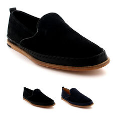 Mens H By Hudson Macuco Suede Slip On Espadrille Flat Smart Casual Shoes UK 6-12