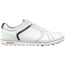 New Ashworth Cardiff ADC 2 Spikeless Golf Shoes Tumbled Leather Material