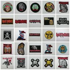 Iron Maiden Patch Sew On Iron Embroidered Rock Band Heavy Metal Free Shipping