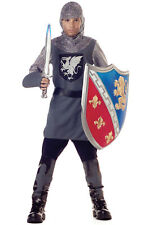 Brand New Renaissance Medieval Valiant Knight Gladiator Child Halloween Costume