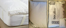 BEST Duck Feather/Goose Feather & Down Mattress Topper/Pillow Pair/Box Pillow