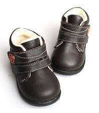 """Freycoo """"Jed"""" Brown Boys Leather Boots - Toddler - Boys"""