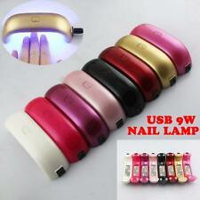 Hot Pro New 9w Portable USB Led UV Nail Lamp Light Mini Nail Gel Polish Dryer