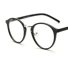 Unisex  Men Women Retro Round Glasses Vintage Clear Lens Eyeglasses Frame New