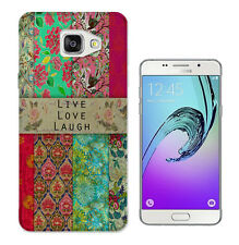 583 Live Love Floral Case Cover For Samsung Galaxy J1 J3 J5 A3 A5 S5 S6 S7 Edge