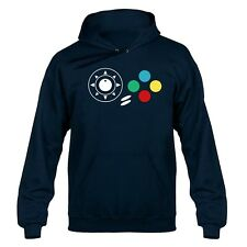 Neo Geo Joypad Buttons Hooded Sweater Hoody