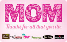 Olive Garden Restaurants - Mothers Day - Gift Card $25 $50 $100 - Email delivery