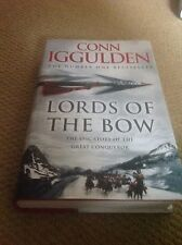 Lords of the Bow Conn Iggulden first edition book
