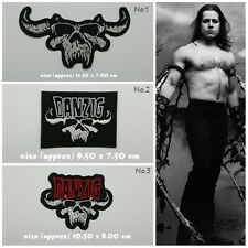 Danzig Sew On Patch Iron Embroidered Rock Band Heavy Metal Logo Music New Badge