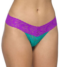 Hanky Panky 3510 Signature Lace Colorplay Low Rise Thong