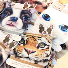 Fashion 3D Cute Dog Cat  Face Mouth Cotton Fabric Anti Dust Windproof Masks