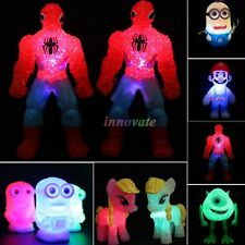 Cute Cartoon Characters LED Changing Night Light Table Lamp Decor Kids Toys Gift