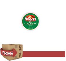 Folgers 2.0 K-CUPS Gourmet LIVELY COLOMBIAN DECAF Keurig Coffee 216 Count