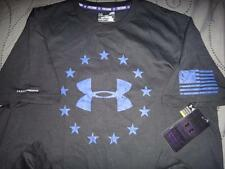 UNDER ARMOUR CHARGED COTTON FREEDOM SHIRT SIZE L XL 2XL MEN NWT $$$$