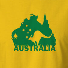 New Comfy Aussie Thread Australia Day T-shirt Clothing Southern Cross Pride