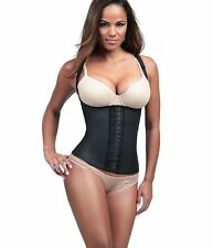 Diva Fit by Squeem 62CV, Latex Vest, Semivest, Waist Cincher, Waist Trainer, Fit