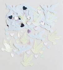 Wedding Doves | Hearts | Wedding Table Confetti | Foiletti Decoration 14-84g
