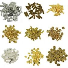 50pcs Vintage Tibet Silver Antique Bronze Made With Love Charms 18 x 5 mm