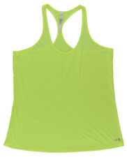 Under Armour Womens Achieve Tank Top Neon Yellow