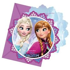 Disney Frozen Northern Lights Party Invites | Invitations with Envelopes 1-48pk