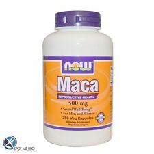 NOW Foods Maca, 500mg supports hormonal balance Free P&P