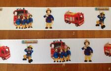 NEW Fireman Sam Grossgrain Ribbon 1 Inch - Length 1M,2M,3M,4M or 5M