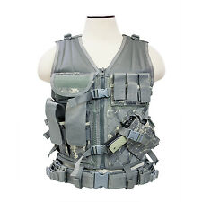 NcSTAR Tactical Vest Police Military Special Forces **DIGITAL CAMO ACU**