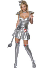 TIN WOMAN WIZARD OF OZ ADULT FANCY DRESS HALLOWEEN COSTUME