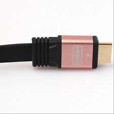 Flat Premium HDMI V2.0 Cable HDTV LED LCD PS4 3D 2160P 4K@2K BLURAY 18GBPS HQ