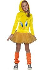 LICENSED TWEETY BIRD HOODIE TUTU CHILD GIRLS LOONEY TUNES BOOK WEEK COSTUME